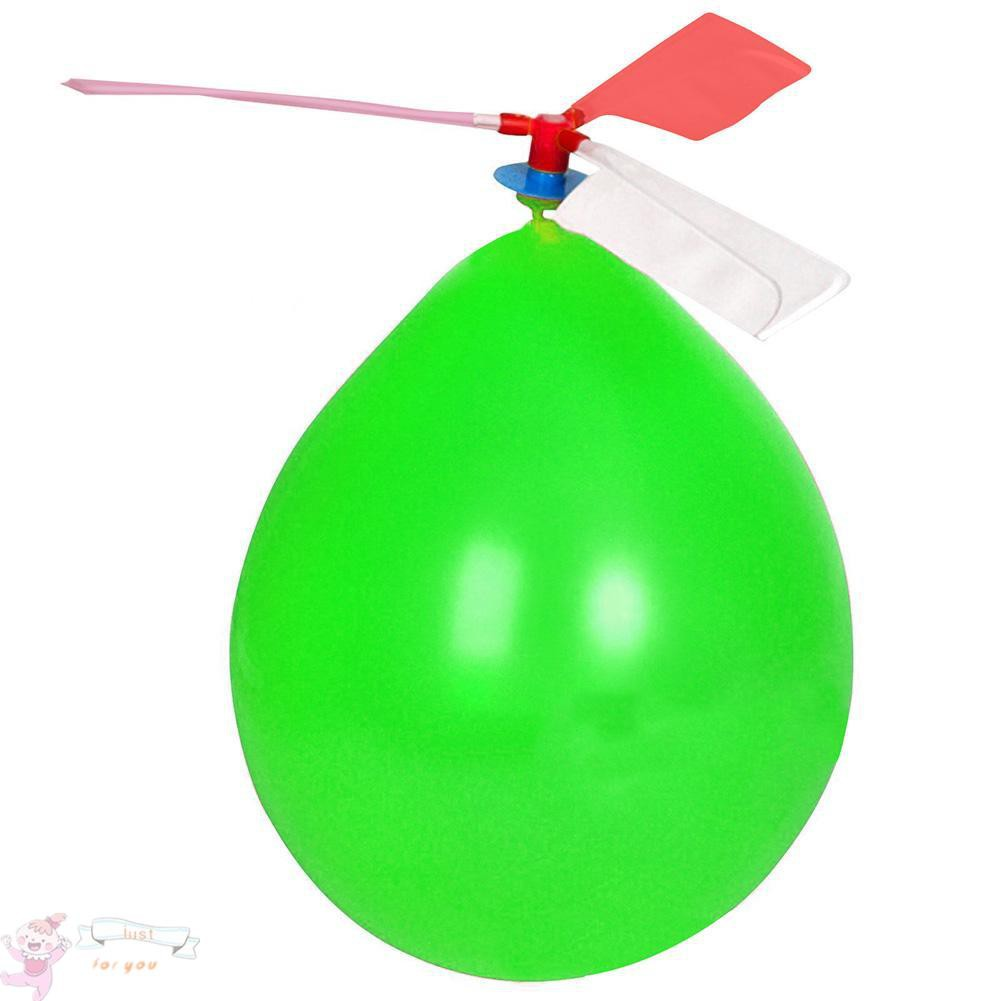 ✥JFY✥Balloon Airplane Kids Educational Toys DIY Outdoor Balloon Helicopter