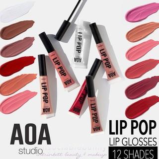 Son bóng Không Nhũ AOA Lip Pop Gloss thumbnail