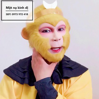 Mặt nạ tôn ngộ không (Bản đặc biệt 3 mảnh) hanhshop21 Dben