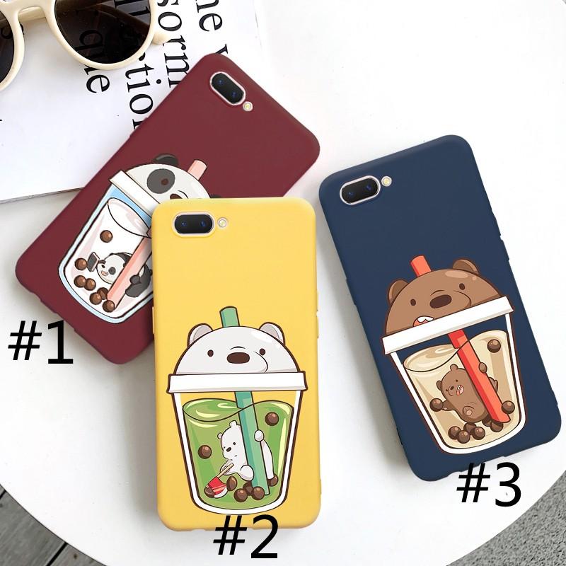 Ốp lưng Iphone 💝FREESHIP 50K💝 gấu panda trà sữa 3 màu cho điện thoại iphone 6 6s 6P 6sP 7P 8P X XS siêu rẻ, bao đẹp