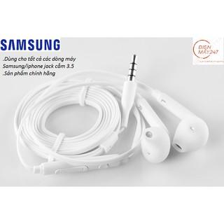 Tai nghe Samsung – Lỗi 1 đổi 1 – jack 3.5mm phân phối chính hãng (Dùng được cho các dòng điện thoại khác)