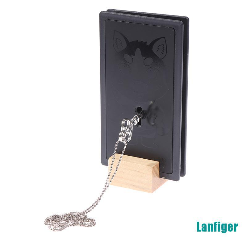 【Lanfiger】Magical Chain Magic Tricks Penetrate Magia Impossible Chain Through Solid Key