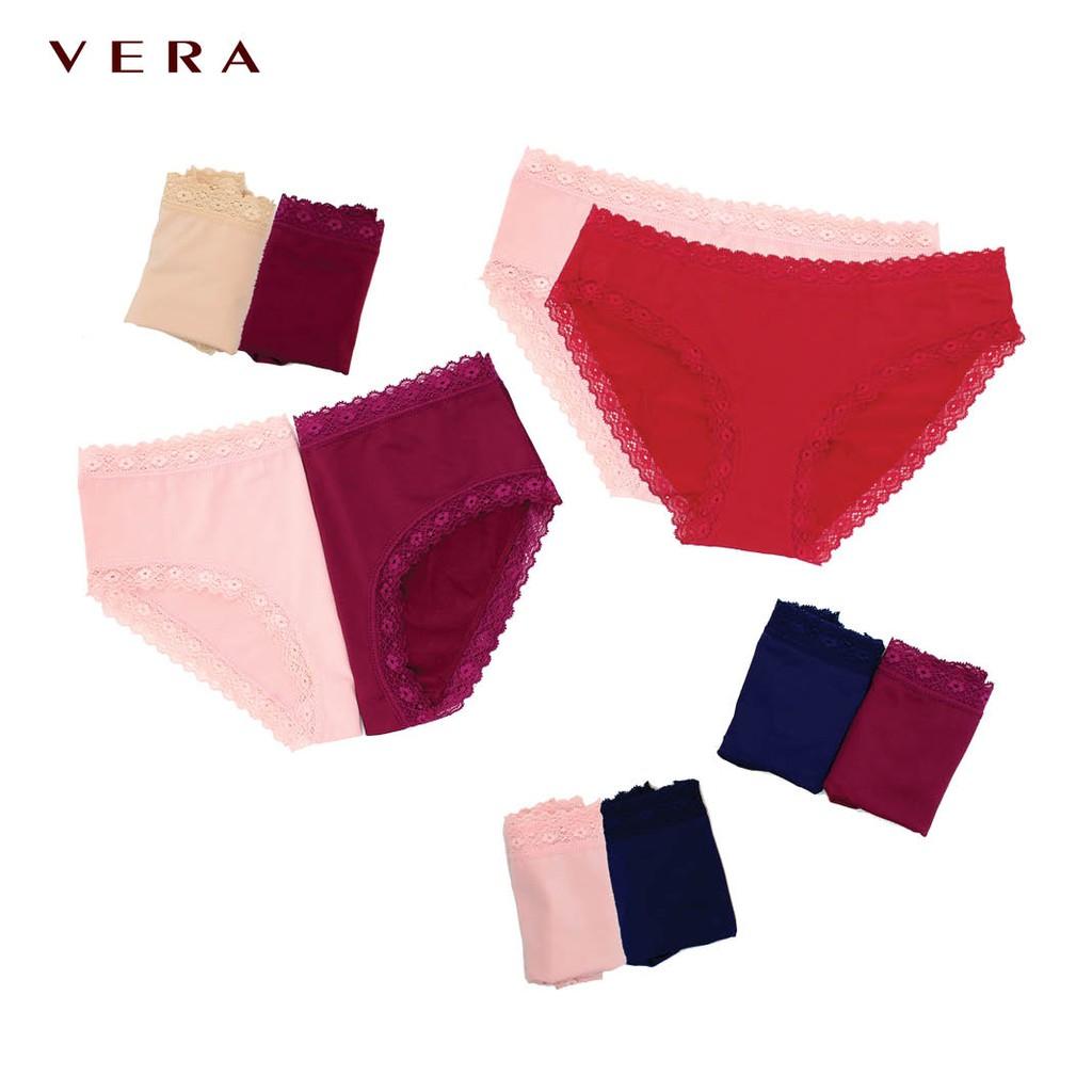 Combo 05 túi quần lót VERA ren thun lạnh Bikini 7164