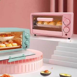 (Order) Lò nướng mini gia dụng tự động 2 tầng nhiều công năng nướng bánh sấy khô phong cách Hàn thumbnail