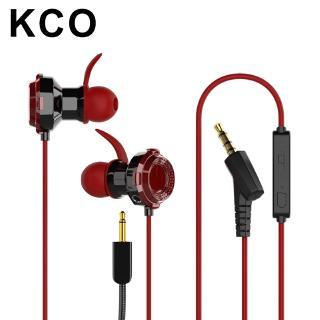 Tai nghe KCO KW01 có dây trình điều khiển kép có Mic cho Mobile Phone Xbox PS4 3.5mm