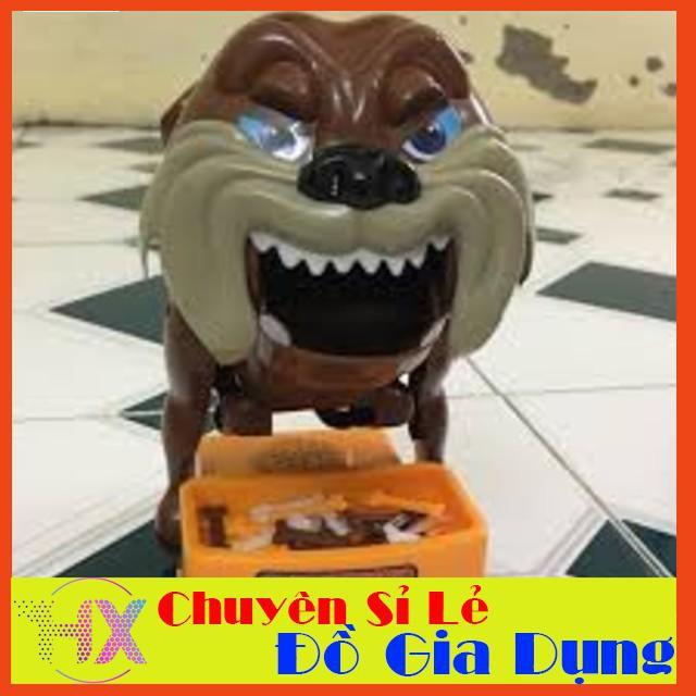 [SIÊU KM] Trò chơi Chó giữ xương – Trộm xương chó Loại lớn: Dùng pin, có nhạc (loại gắp xương) – SIÊU BỀN