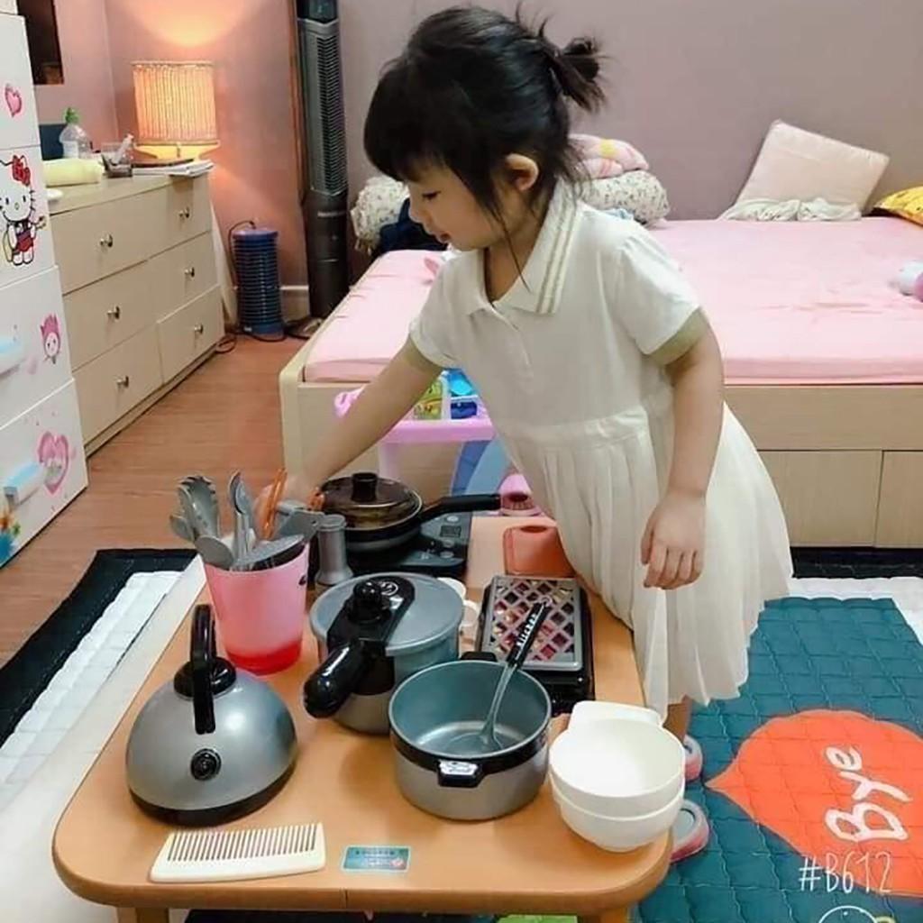 Bộ đồ chơi nấu ăn nhà bếp bằng nhựa an toàn cho bé 36 món mẫu mới 2021