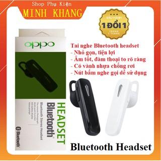 [Rẻ Vô Địch] Tai Nghe Bluetooth Headset 1 Bên Hỗ Trợ Đàm Thoại Cực Tốt - Nhỏ Gọn Tiện Lợi - Có Vành Nhựa Chống Rơi