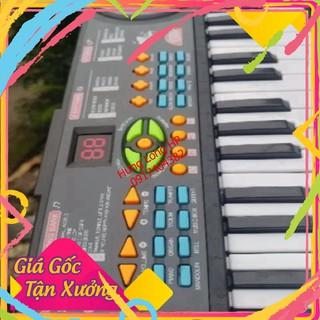 đàn organ đàn piano Đàn CanTor HL3718 kèm mic cho bé xả kho