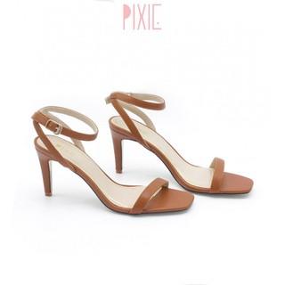 Giày Sandal Cao Gót 7cm Quai Mảnh Gót Nhọn Pixie P131