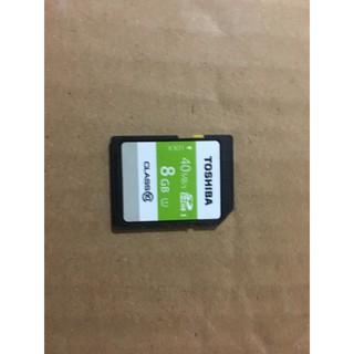 Thẻ Nhớ SD Toshiba 8GB Cũ