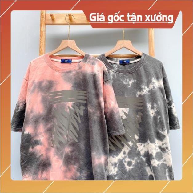 Áo Zigzag Phản Quang TieDye Loang Màu siêu xinh HOT