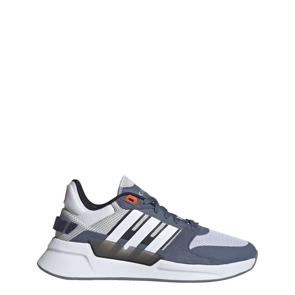 Giày Chạy Bộ adidas RUNNING Phong Cách Thập niên 90 Nữ Màu trắng EF0591