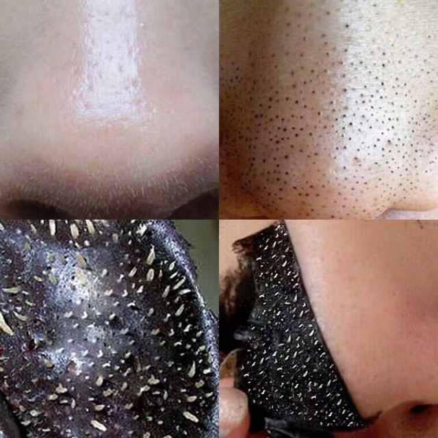 [RẺ VÔ ĐỊCH] Mặt nạ than tre hoạt tính lột mụn cám, mụn đầu đen ở mũi Bioqua 60g