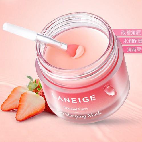 [SALE- Fullsize 20g) Mặt nạ ngủ môi Laneige Lip Sleeping Mask (Berry)