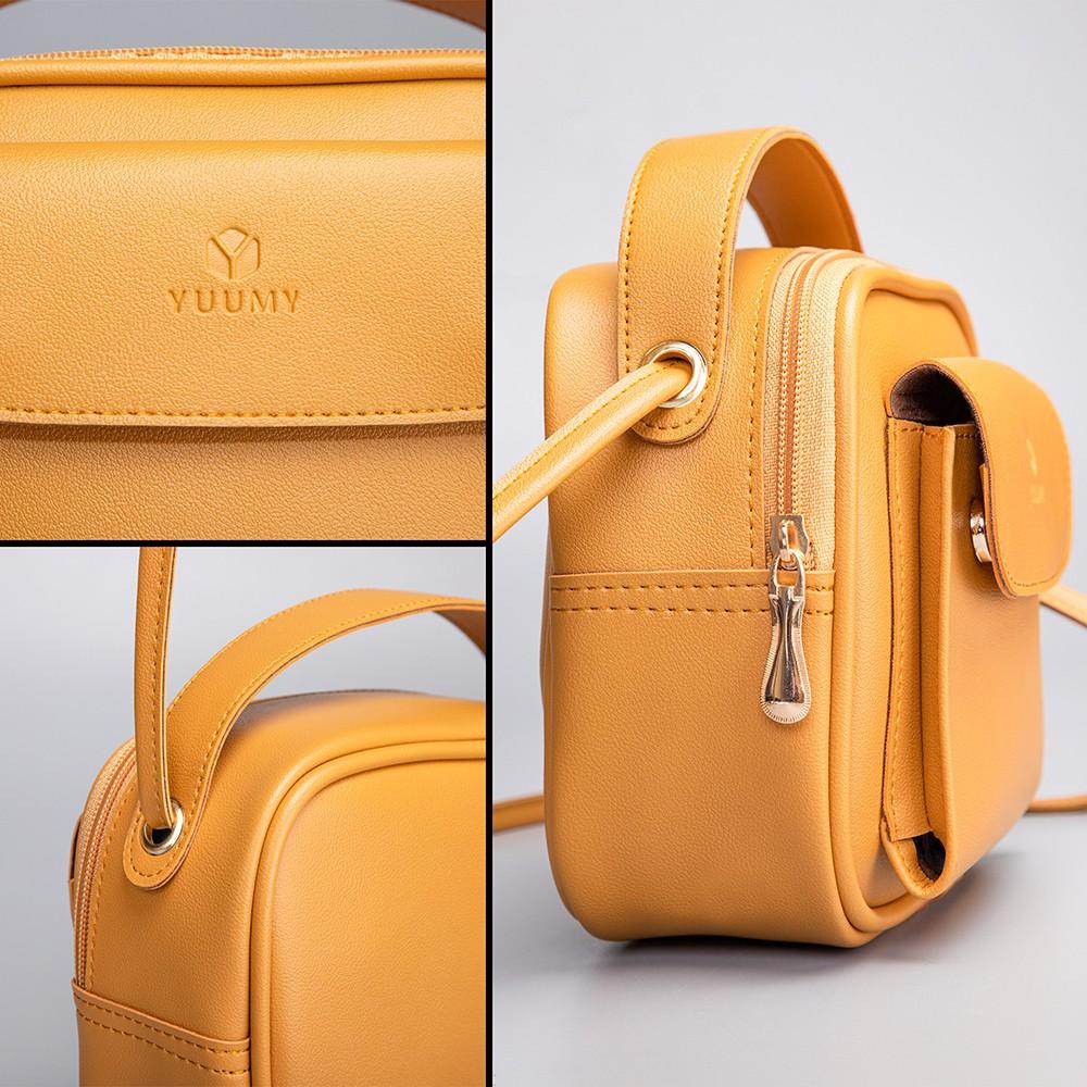 Túi đeo chéo thời trang nữ YUUMY YN44 nhiều màu
