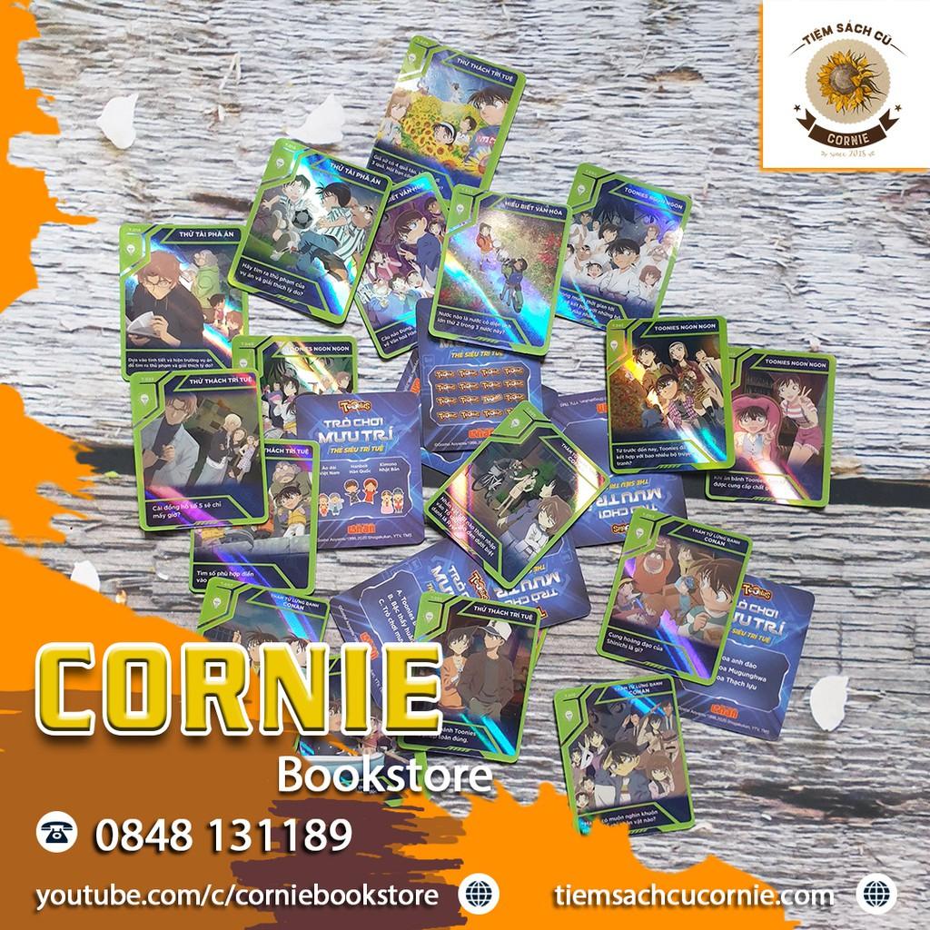 Thẻ Toonies CONAN Trò Chơi Mưu Trí – Thẻ SIÊU TRÍ TUỆ Mã T.021-T.040