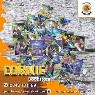 Thẻ Toonies CONAN Trò Chơi Mưu Trí – Thẻ SIÊU TRÍ TUỆ Mã T.041-T.050