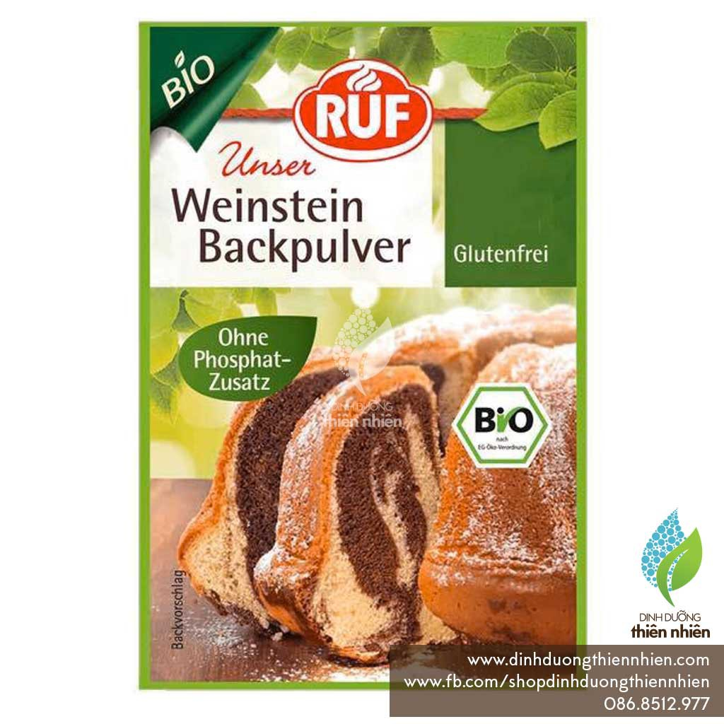 Bột Nở Hữu Cơ RUF Organic Baking Powder, 20g/ 1 gói - 2503901 , 1264147720 , 322_1264147720 , 26000 , Bot-No-Huu-Co-RUF-Organic-Baking-Powder-20g-1-goi-322_1264147720 , shopee.vn , Bột Nở Hữu Cơ RUF Organic Baking Powder, 20g/ 1 gói
