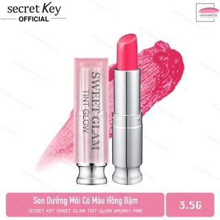 Son dưỡng môi có màu Secret Key Sweet Glam Tint Glow 3.5g Punky Pink (Hồng đào) thumbnail