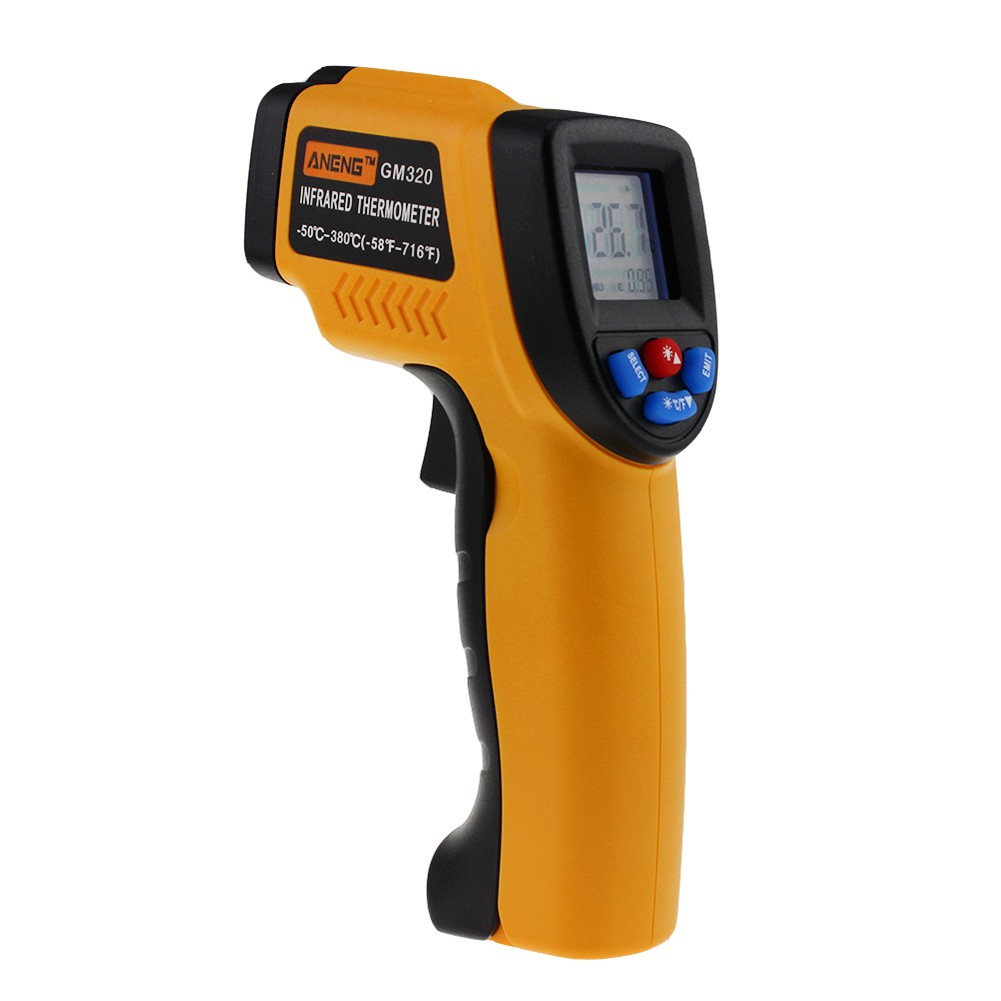 GM320 Non-Contact LCD IR Laser Infrared Temperature Thermometer Tool