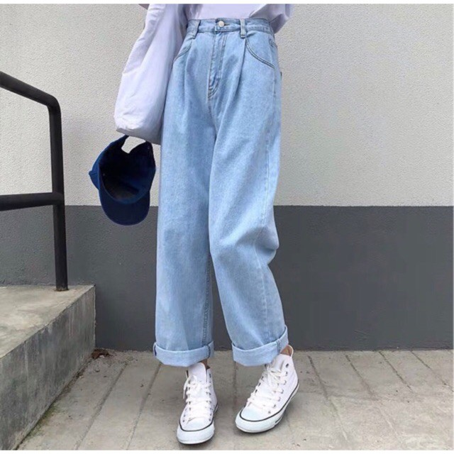Quần Simple Jeans UNISEX 👉🏻kèm ảnh khách feedback