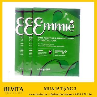 Mặt nạ thải độc trị mụn Emmié Pore Purifying & Blemish Control Charcoal Mask 25ml (Emmie Mask)