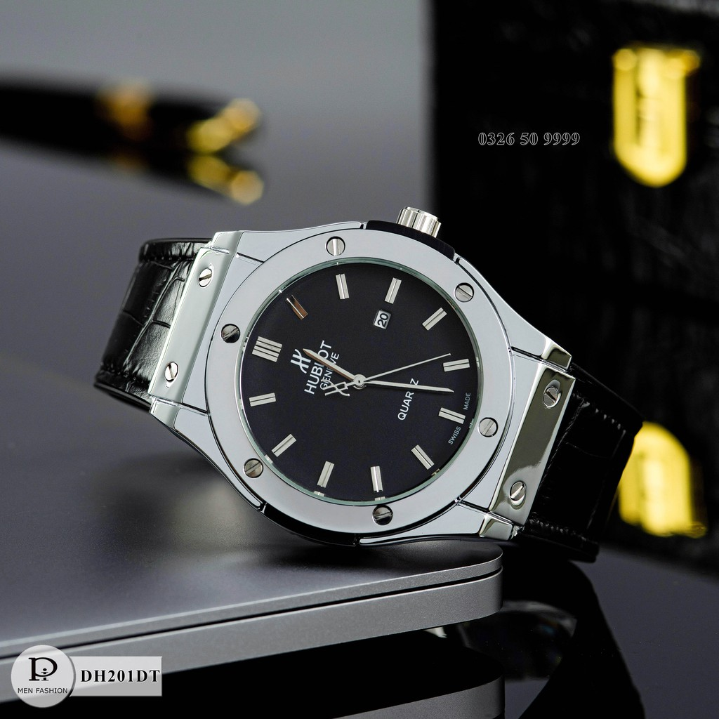Đồng hồ nam Hulo - Đồng hồ máy pin thể thao, bảo hành 12 tháng DH201 - Shop115