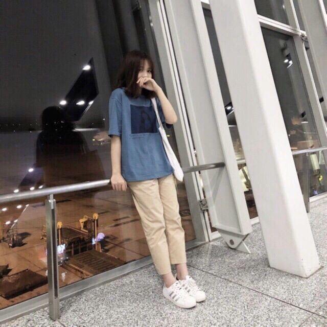 [Freeship99k]🎈Quần kaki dáng baggy suông sắn ống đủ 3 màu siêu đẹp ,nam nữ mặc đẹp | BigBuy360
