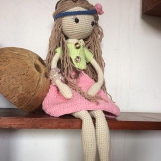 Búp bê bằng len Aria – bup bê HandMade – Búp bê bằng len Aria – bup bê HandMade Búp bê len – bup bê doll doll.
