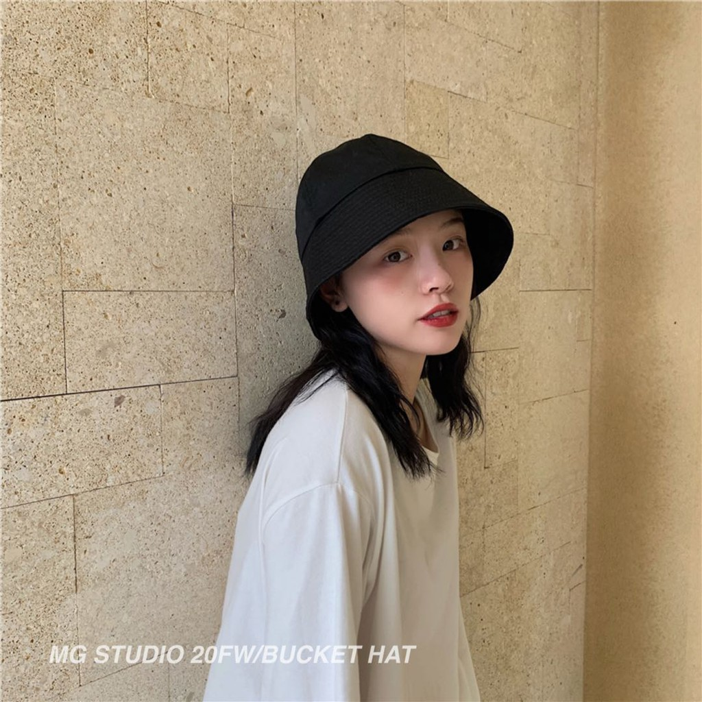 MG STUDIO/Trendy dome bucket hat #1