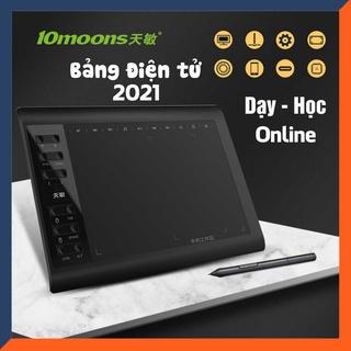 FREESHIP Bảng vẽ điện tử 10moons G10, màn 10x6 inch, tương thích Window, Mac và Android, Hỗ trợ Học Online thumbnail