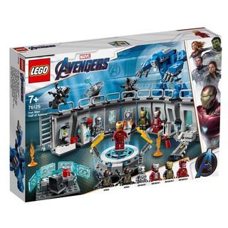 [HÀNG CÓ SẴN] Lego 76125 Avengers Endgame Iron Man Hall Of Armor – Phòng Chứa Áo Giáp Người Sắt chính hãng