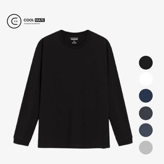Hình ảnh [Mã APMACL2910 Giảm 20% tối đa 50k cho đơn từ 99k] Áo thun dài tay nam Cotton Compact Premium thương hiệu Coolmate-0