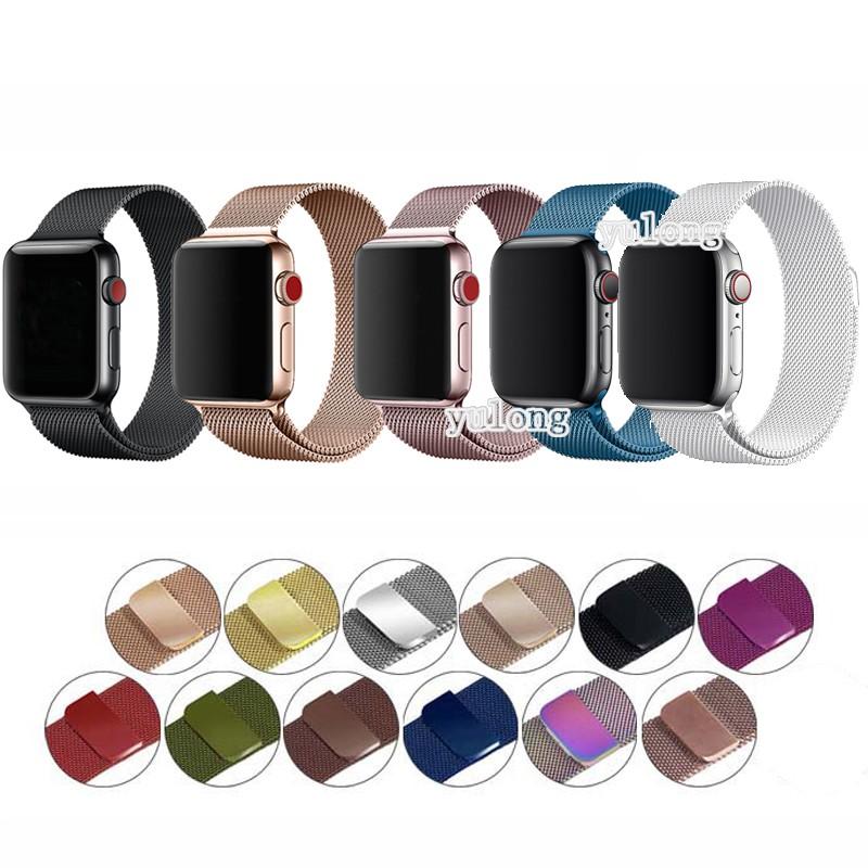 Dây đeo kim loại cho đồng hồ thông minh Apple Watch iWatch 40mm 44mm 42mm 38mm