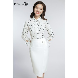 Chân váy bút chì thiết kế IVY moda MS 31M3340 thumbnail