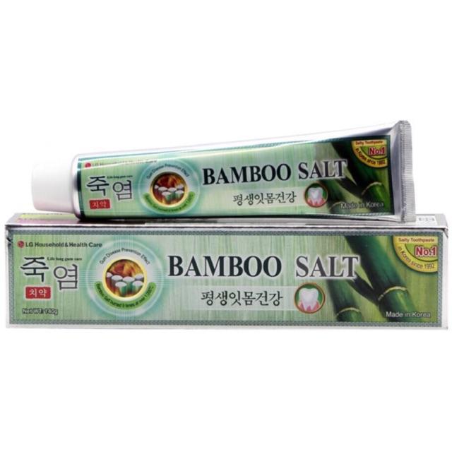 KEM ĐÁNH RĂNG MUỐI TRE BAMBOO SALT 140G HÀN QUỐC