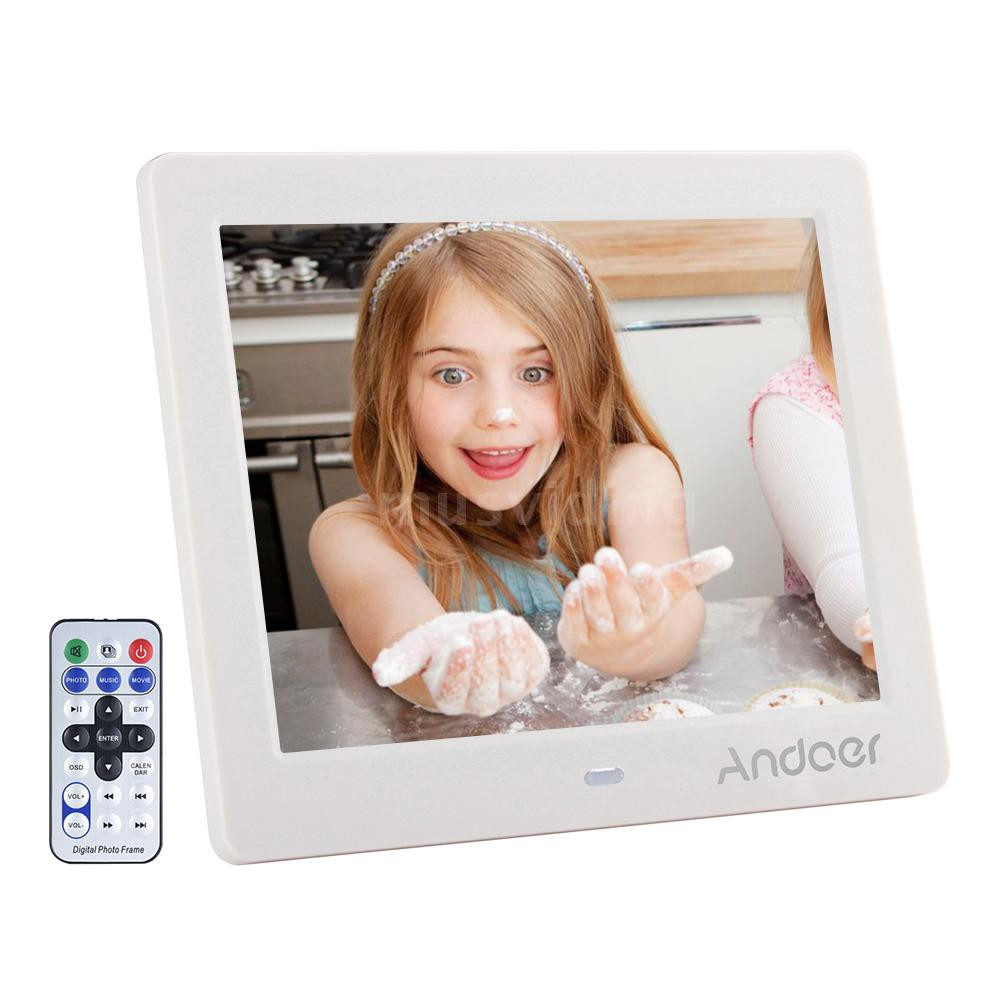 """Andoer 8"""" HD Wide Screen High Resolution Digital Photo Picture Frame Alarm Clock MP3 MP4 Movie Player with   Remote Cont - 14901114 , 2834695518 , 322_2834695518 , 1174406 , Andoer-8-HD-Wide-Screen-High-Resolution-Digital-Photo-Picture-Frame-Alarm-Clock-MP3-MP4-Movie-Player-with-Remote-Cont-322_2834695518 , shopee.vn , Andoer 8"""" HD Wide Screen High Resolution Digital Pho"""