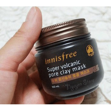 Mặt nạ đất sét Innisfree Super Volcanic Pore Clay Mask - 100ml