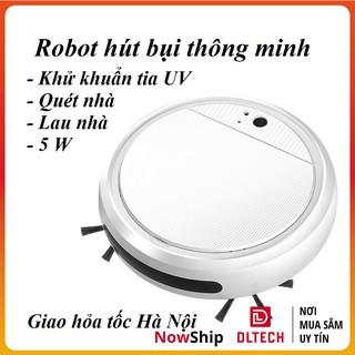 Robot Hút bụi khử khuẩn tia UV quét nhà lau nhà Thông Minh 4 Trong 1 Có Thể Sạc Lại YT088 DL TECH