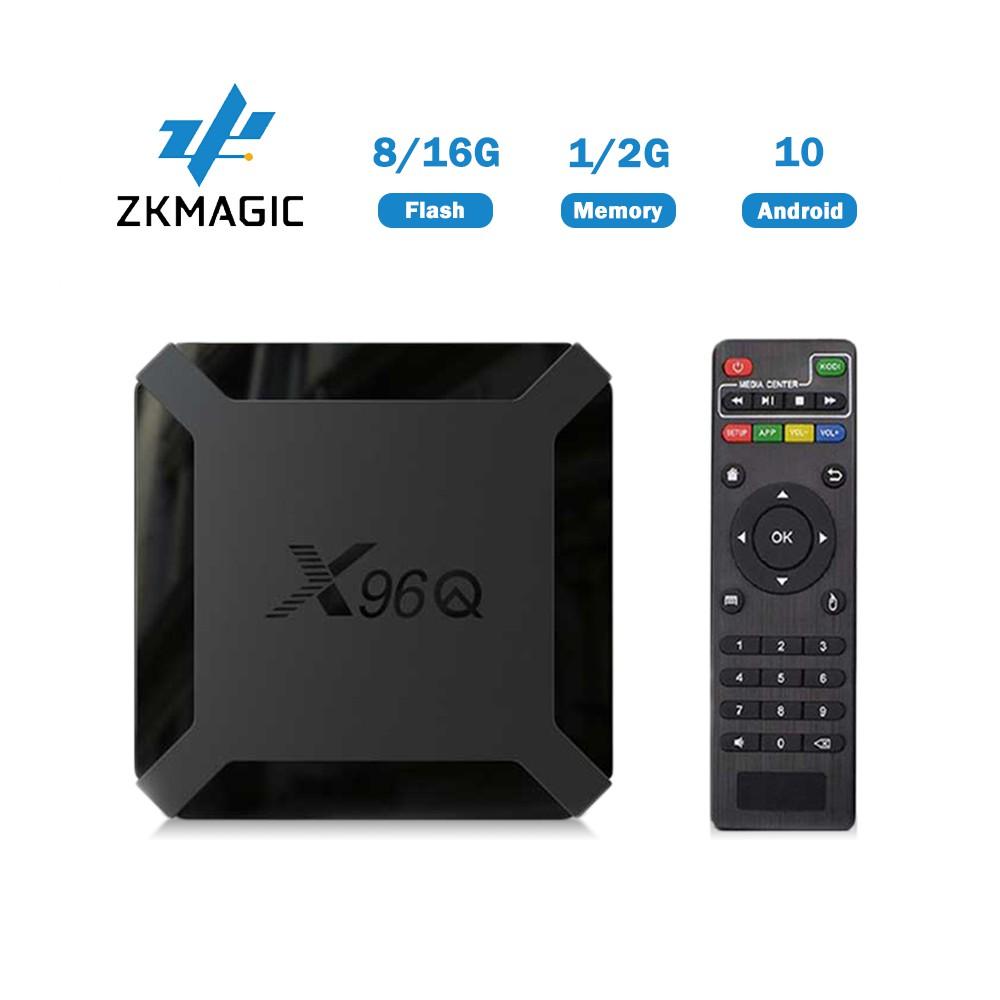 TV Box Zkmagic X96Q 2.4G Wifi H313 4 Lõi 2GB 16GB 4K HDMI 2.0A