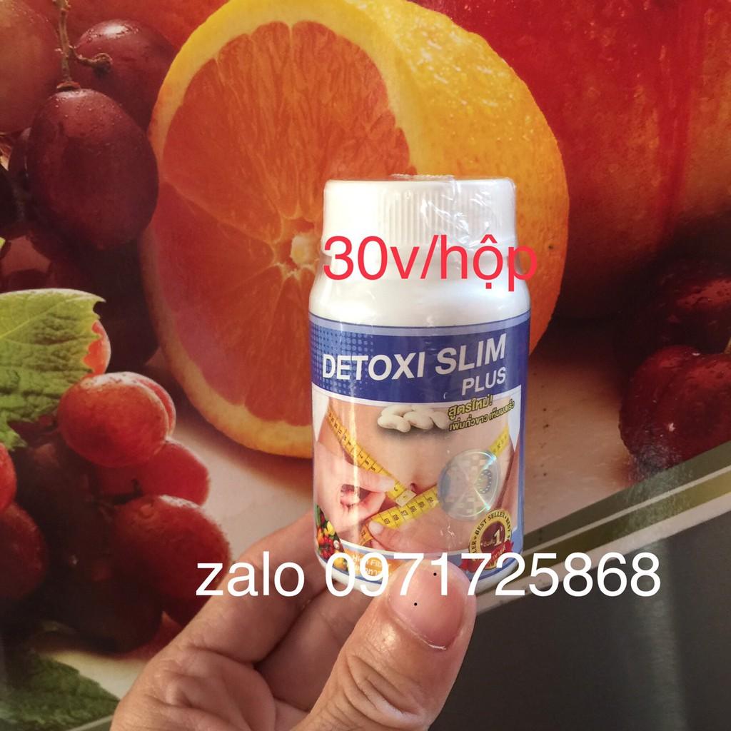 DETOX SLIM [viên uống giảm cân tan mỡ bụng đùi]