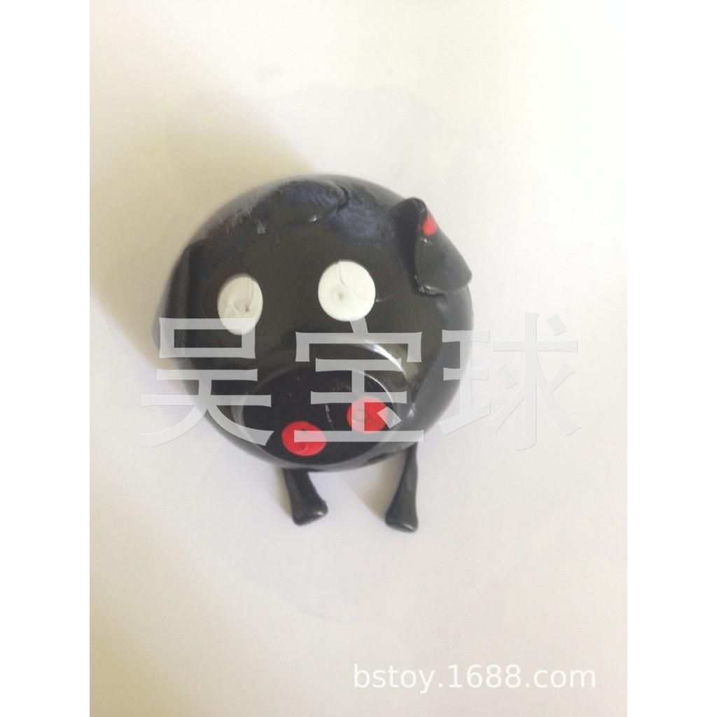 đồ chơi gudetama bóp trút giận lợn bẹp dí mã QQH22 Xk937