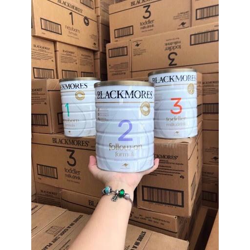 [Hàng bay air] Sữa BLACKMORES 900gr đủ 3 Số 1,2,3 Úc Date Xa