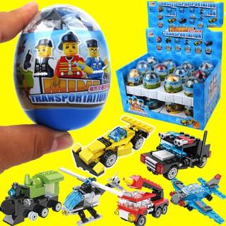 Combo 4 Trứng lego mô hình lắp ghép