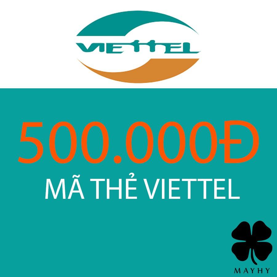 Mã thẻ điện thoại Viettel 500.000 - 2896795 , 1276722039 , 322_1276722039 , 500000 , Ma-the-dien-thoai-Viettel-500.000-322_1276722039 , shopee.vn , Mã thẻ điện thoại Viettel 500.000