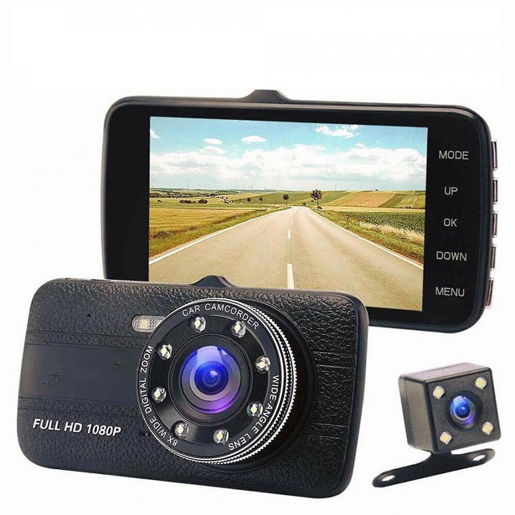 Camera hành trình Trước Sau HD Tích Hợp 8 Led 1080P