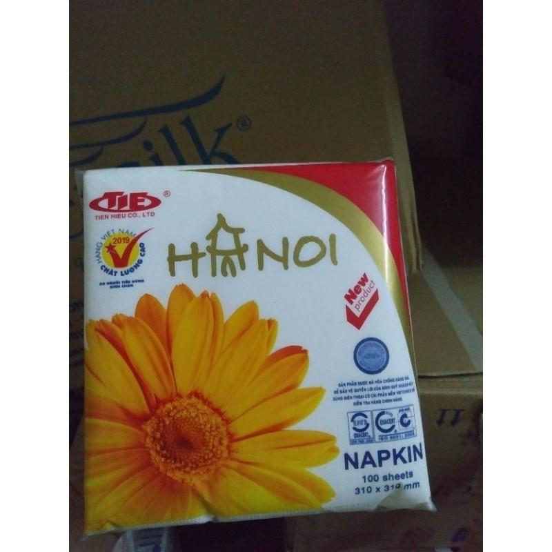 Khăn Giấy Ăn  Hà Nội 310x310mm Gói 100 Tờ