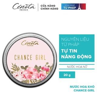 Nước hoa khô Cenota Chance Girl 15g thumbnail