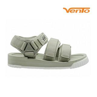 Giày Sandal Vento Nam Nữ 3 Quai SD9801 Màu Xám Ghi